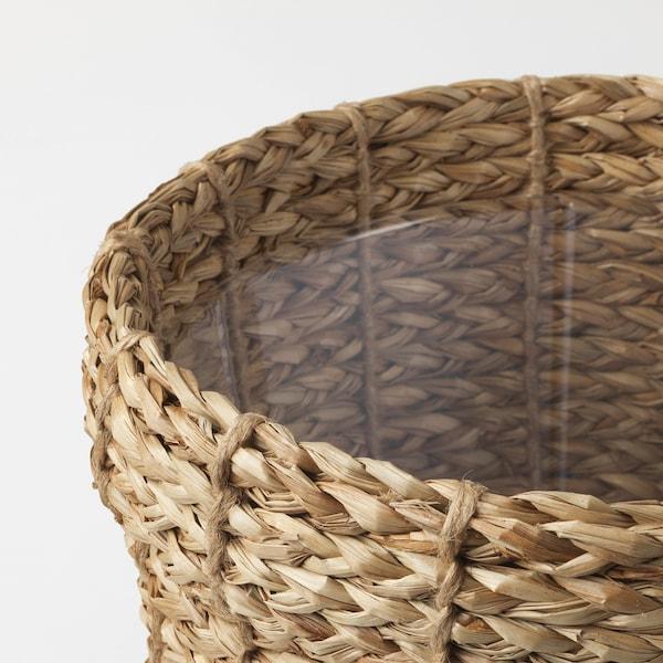 """VALLMOFRÖN Plant pot, seagrass, 7 ½ """""""