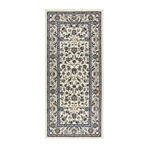 Vall by rug low pile ikea for Teppich beige ikea