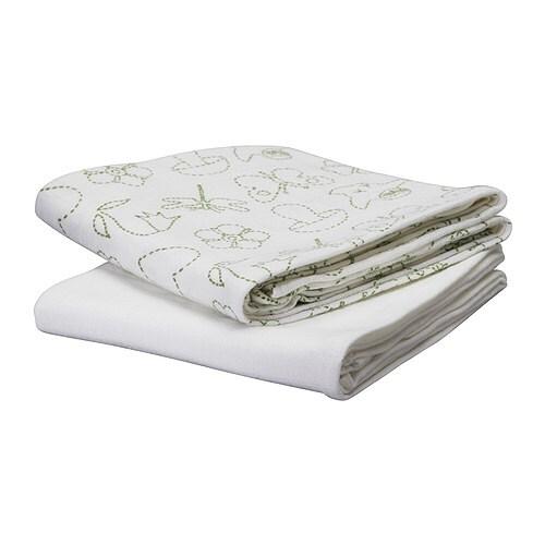 VANDRING Burp cloths IKEA Soft against baby's skin.