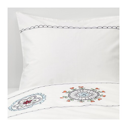 VÄNSKAPLIG Duvet cover and pillowcase(s) IKEA