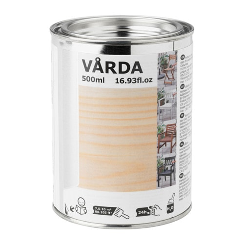 VÅRDA Wood stain, outdoor use, colorless colorless -