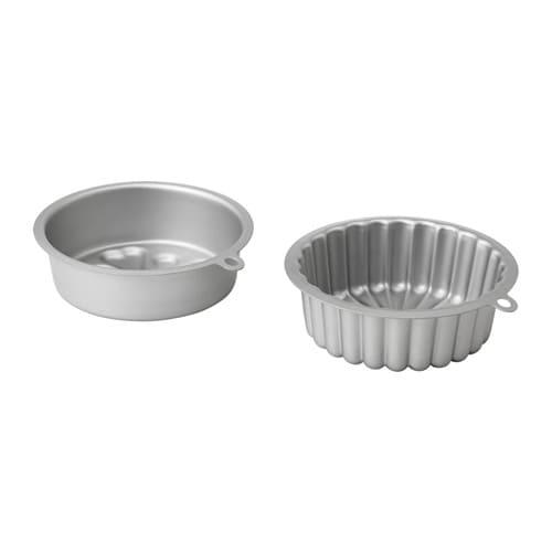 VARDAGEN Baking pan, silver color