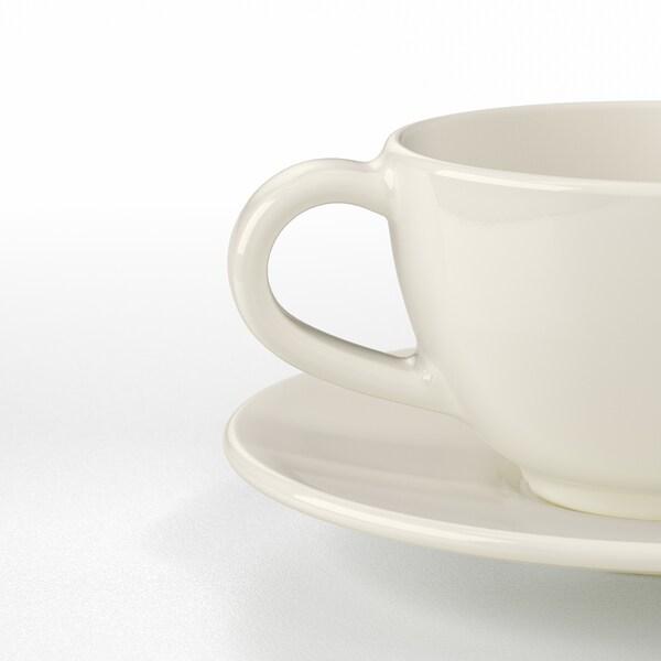 IKEA VARDAGEN Coffee cup and saucer