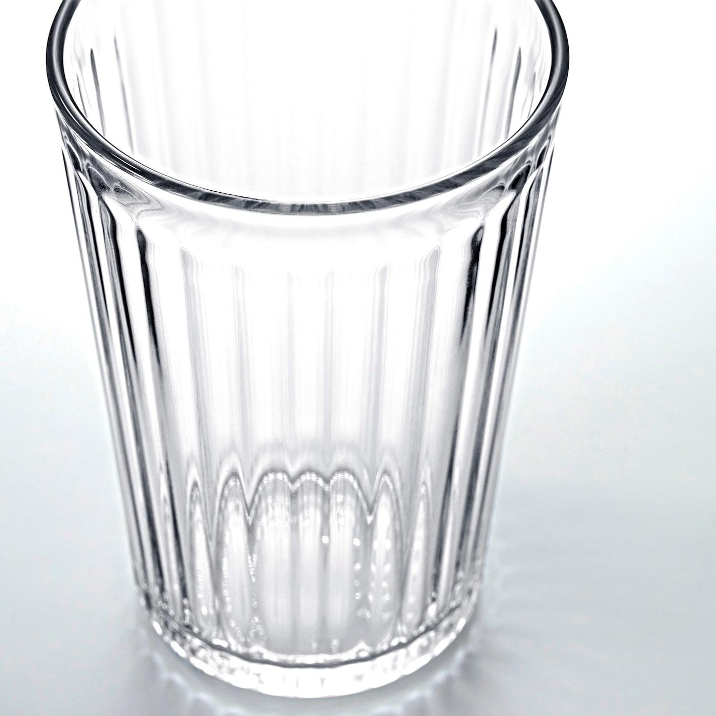 VARDAGEN Glass, clear glass, 10 oz
