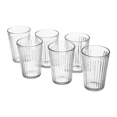 VARDAGEN Glass, clear glass