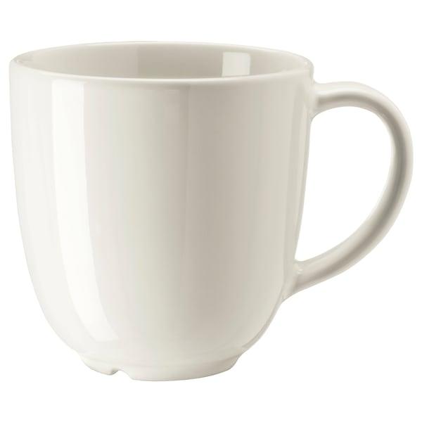 VARDAGEN Mug, off-white, 10 oz