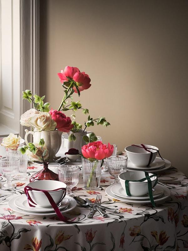 """VARDAGEN Plate, off-white, 10 ¼ """""""