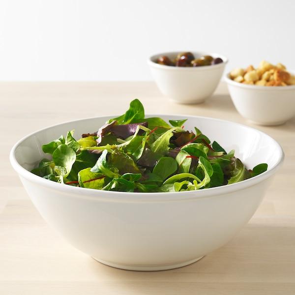 """VARDAGEN Serving bowl, off-white, 9 ½ """""""