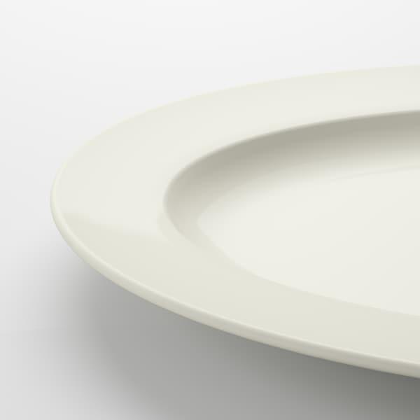 """VARDAGEN Serving plate, off-white, 17x11 """""""