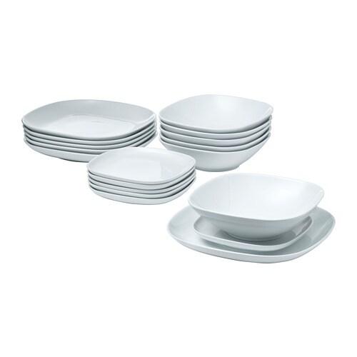 V 196 Rdera 18 Piece Dinnerware Set Ikea