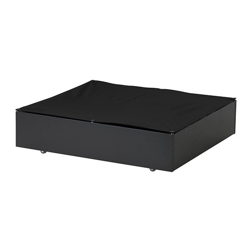 vard underbed storage box black ikea