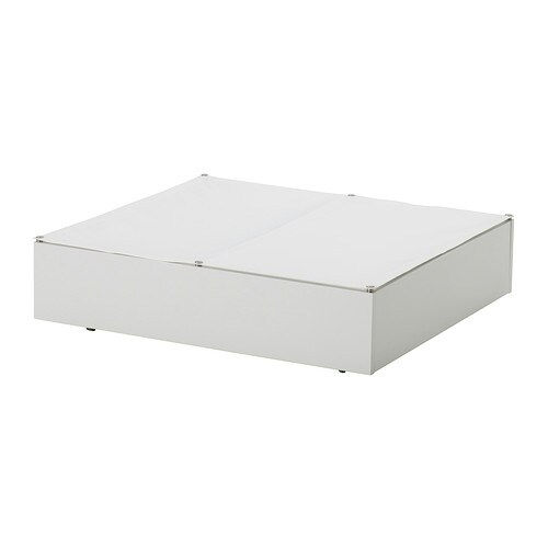 vard underbed storage box white ikea