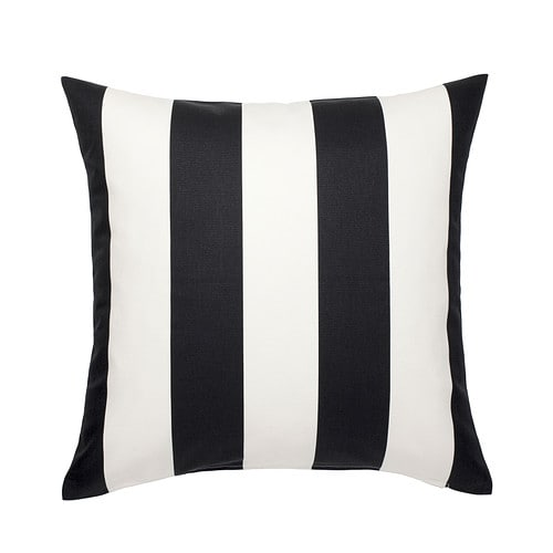 VÅRGYLLEN Cushion cover IKEA The zipper makes the cover easy to remove.  Choose between a feather- or polyester-filled inner cushion.