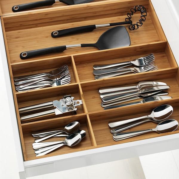 """VARIERA Flatware tray, bamboo, 15x20 """""""
