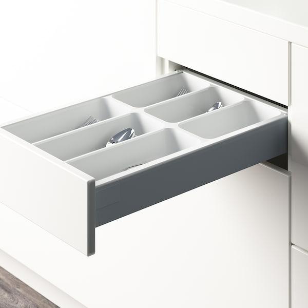 "VARIERA Flatware tray, white, 12x20 """