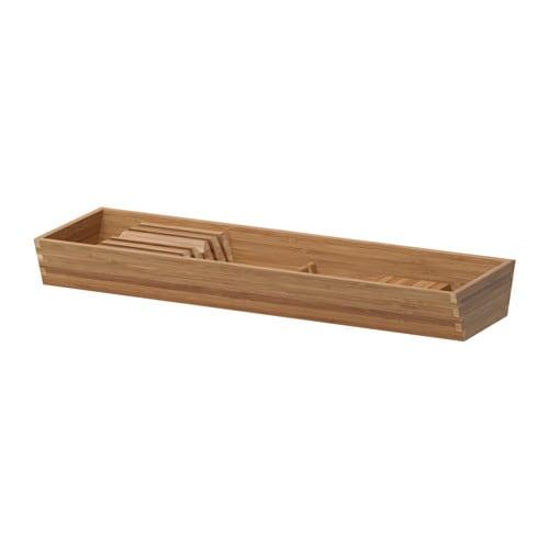 VARIERA Knife tray, bamboo