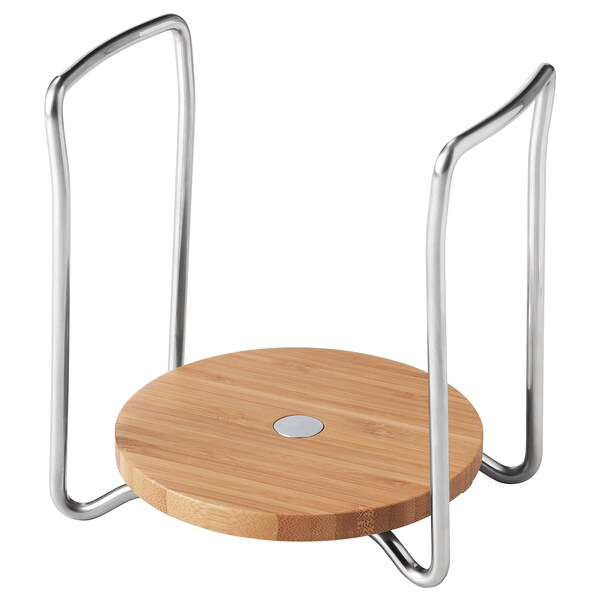 "VARIERA Plate holder, bamboo, 5 7/8-8 1/4 """