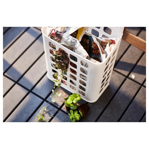 VARIERA Trash can, white, 3 gallon