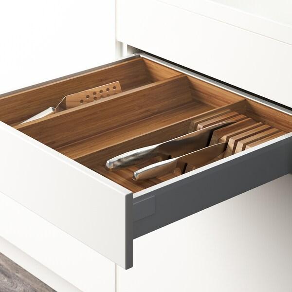 "VARIERA Utensil/knife tray, bamboo, 15x20 """