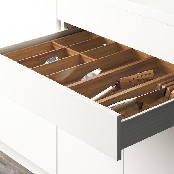 "VARIERA Utensil tray, bamboo, 6x20 """