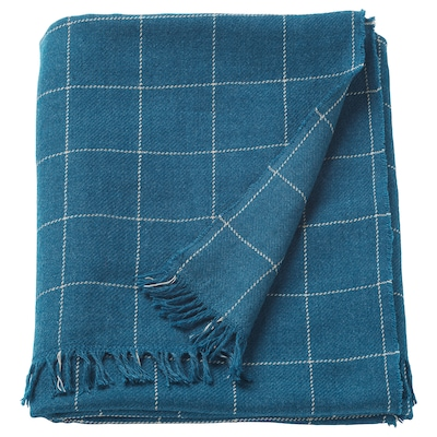 "VÅRKRAGE throw blue 67 "" 43 "" 13 oz"