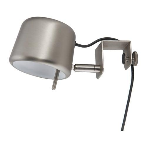 VARV Clamp spotlight, silver color silver color -