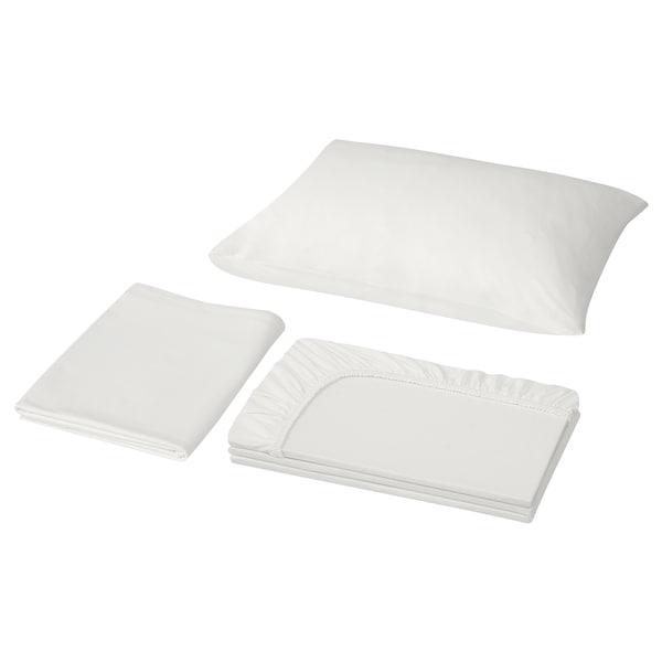 VÅRVIAL Sheet set, white, Twin