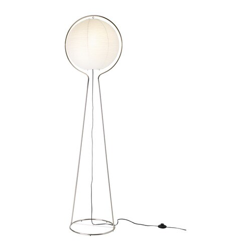 VÄTE Floor lamp IKEA Diffused light provides a general light.