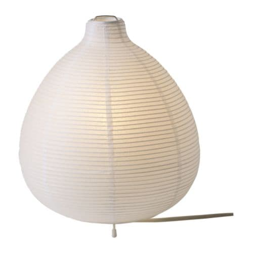 VÄTE Table lamp IKEA Gives a soft mood light.