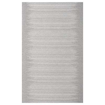 """VATTENAX Panel curtain, gray/white, 24x118 """""""
