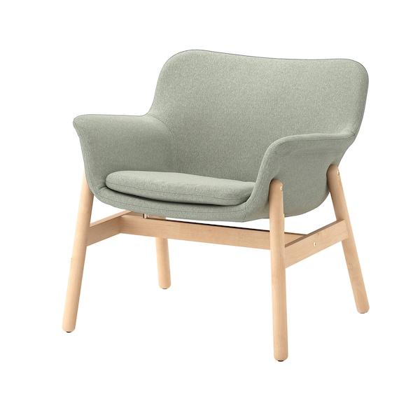 VEDBO Armchair, Gunnared light green