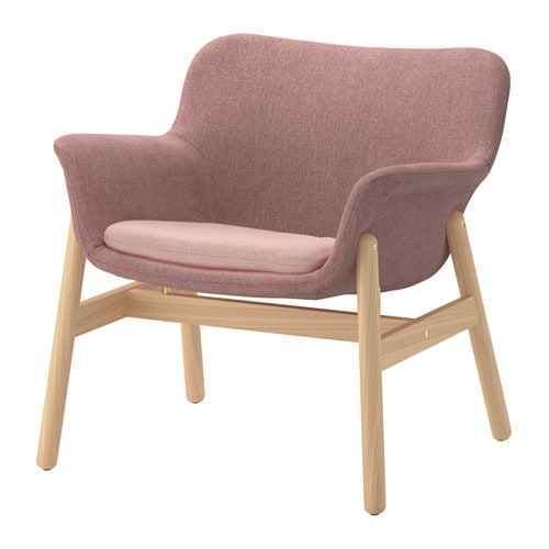 Vedbo Armchair Gunnared Light Brown Pink Ikea