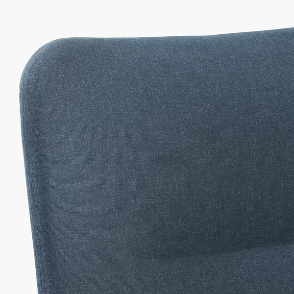 "VEDBO armchair Gunnared blue 31 1/2 "" 33 1/2 "" 42 1/2 "" 17 3/4 "" 18 7/8 "" 17 3/8 """