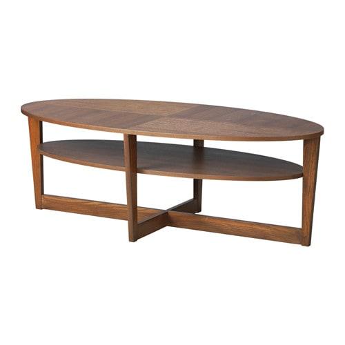 VEJMON Coffee table, brown brown 55 1/8x26