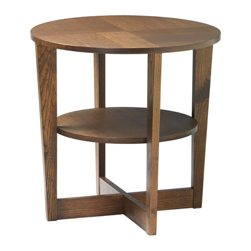 vejmon side table brown ikea