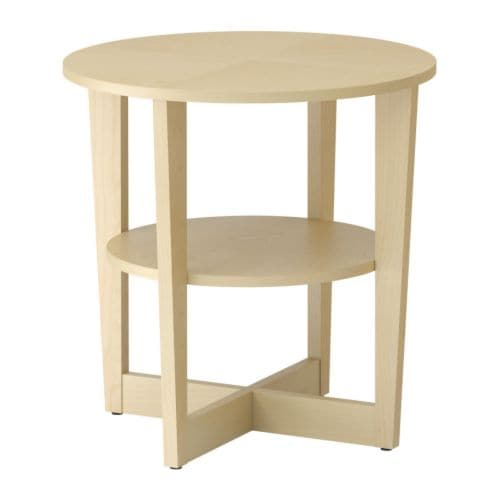 vejmon side table birch veneer ikea