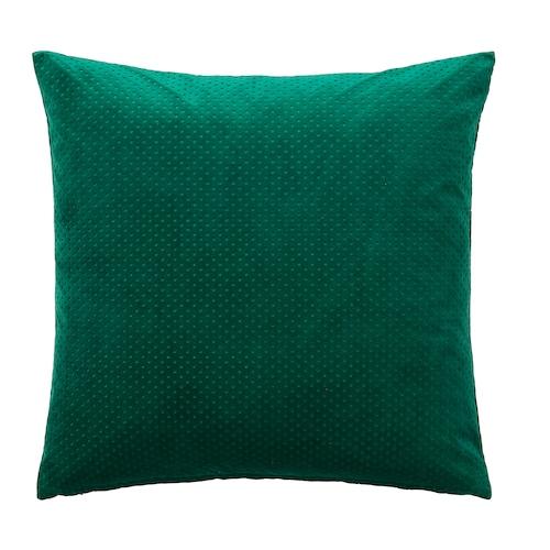 "VENCHE cushion cover dark green 20 "" 20 """