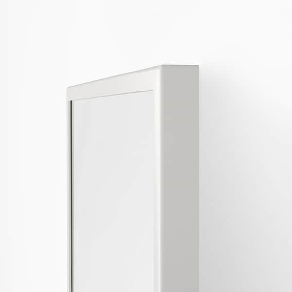 "VENNESLA Floor mirror, white, 17 3/4x69 7/8 """