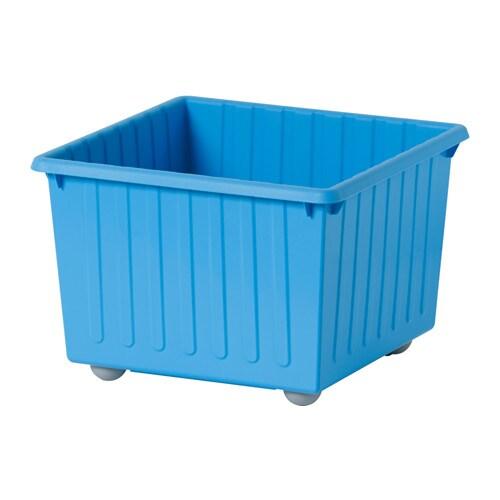 VESSLA Storage crate with casters  IKEA