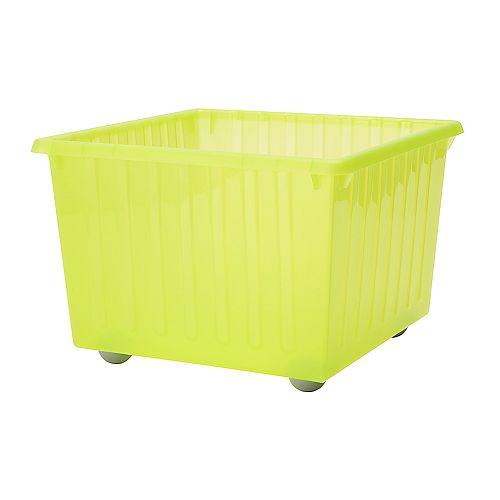 Vessla storage crate with casters ikea - Bac rangement plastique ikea ...