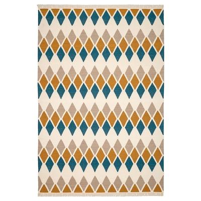 "VETTERSLEV Rug, flatwoven, handmade multicolor, 5 ' 7 ""x7 ' 10 """