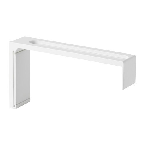 VIDGA Wall bracket IKEA The long wall fitting is perfect for solutions with several parallel rails.