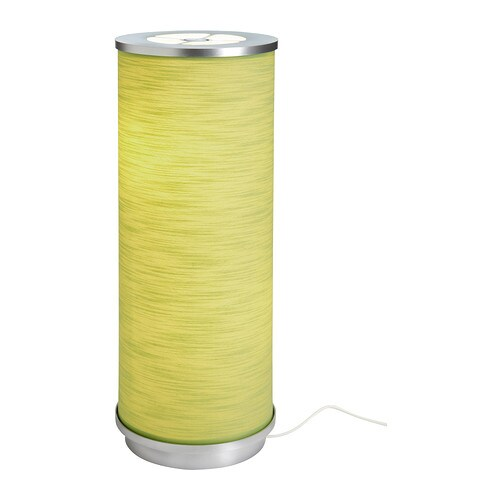 VIDJA Table lamp IKEA Fabric shade gives a diffused and decorative light.