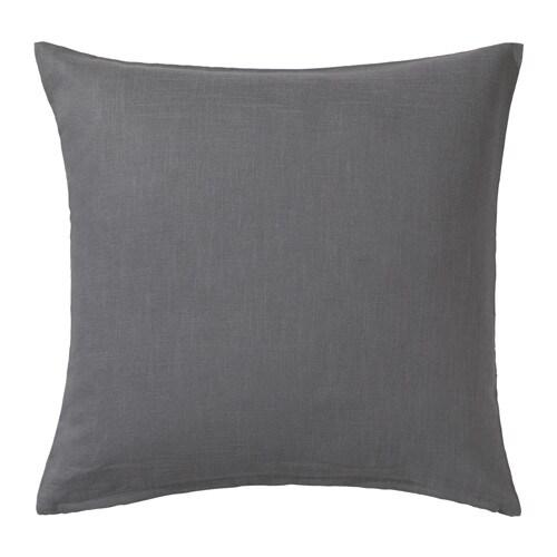 VIGDIS Cushion cover, dark gray