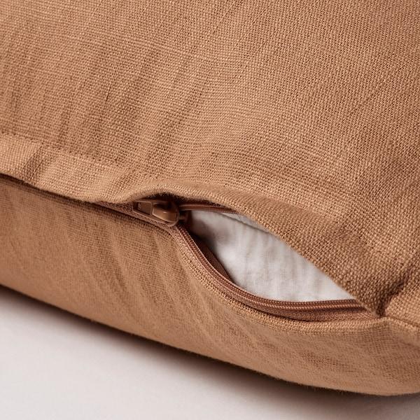"VIGDIS Cushion cover, light brown, 20x20 """