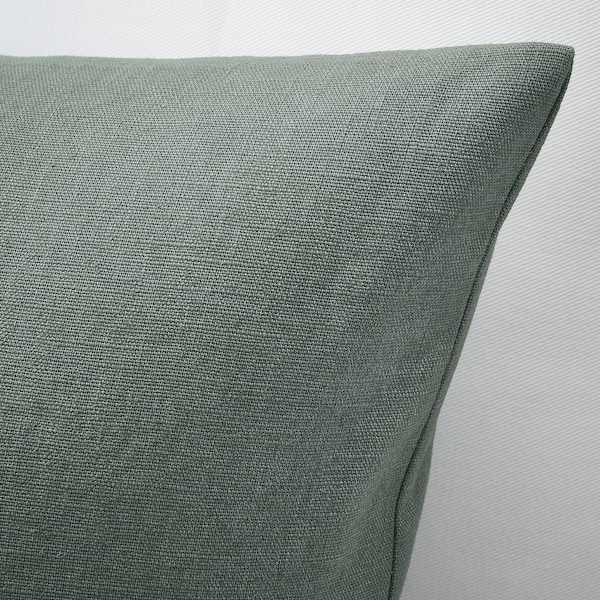VIGDIS Cushion cover, pale green, 20x20 ""