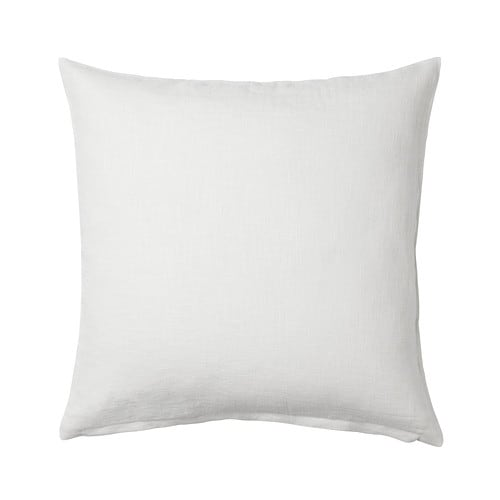 VIGDIS Cushion cover IKEA Cover is made of ramie; a hard-wearing and absorbent natural material.  The zipper makes the cover easy to remove.