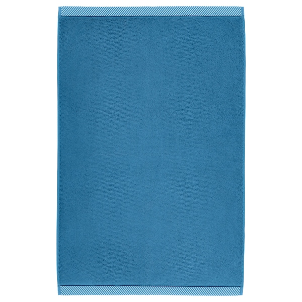 "VIKFJÄRD bath mat blue 32 "" 20 "" 4.31 sq feet 3 oz/sq ft"
