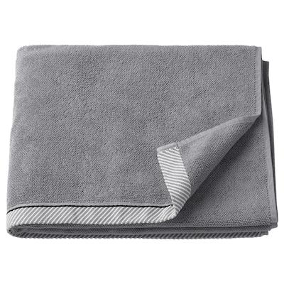 """VIKFJÄRD bath towel gray 55 """" 28 """" 10.55 sq feet 1.56 oz/sq ft"""