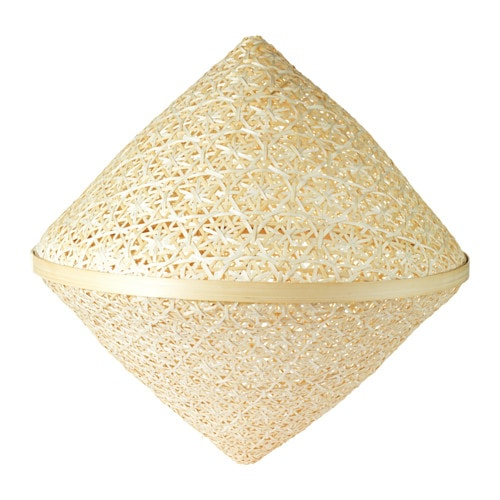 viktigt pendant lamp shade ikea each handmade natural fiber shade is